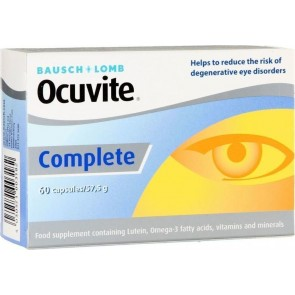 Bausch & Lomb - Ocuvite Complete - 60 caps