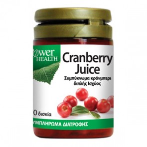 Power Health - Cranberry Juice 4500mg - 30 tabs