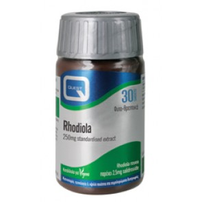 Quest - Rhodiola Χρυσή Ρίζα 250mg extract eq. to 1000mg - 30tabs