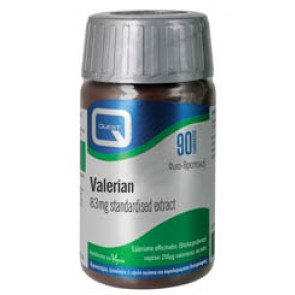 Quest - Valerian Βαλεριάνα 83mg extract eq. to 500mg - 90tabs
