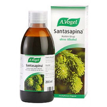 A.Vogel Santasapina Sirup Without Alcohol (Αντιβηχικό) 200ml