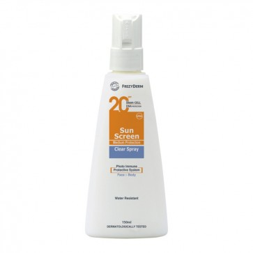 Frezyderm - Sun Screen Clear Spray SPF20 - 150ml