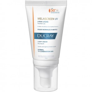 Ducray - Melascreen UV Creme Legere Dry Touch Αντηλιακή Προσώπου SPF50+ - 40ml