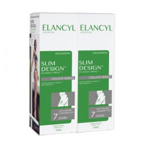 Elancyl - Slim Design Duo Stubborn Cellulite κατά της κυτταρίτιδας - 2x200ml