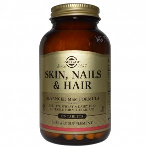 Solgar - Skin Nails & Hair - 120tabs