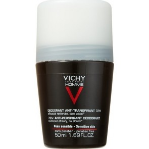 Vichy - Homme Intense Regulation Deodorant Roll-On 72h έντονη εφίδρωση - 50ml