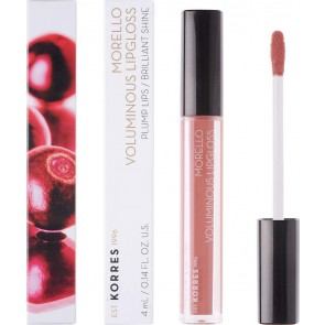 Korres - Morello Voluminous Lip Gloss 04 Honey Nude - 4ml
