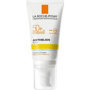 La Roche Posay - Anthelios KA+ cream SPF50 with niacinamide & panthenol Κρέμα πολύ υψηλής αντηλιακής προστασίας χωρίς άρωμα - 50ml
