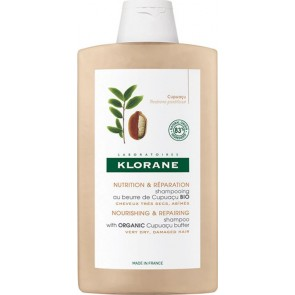 Klorane - Nourishing & repairing shampoo with organic cupuacu butter for dry & damaged hair Σαμπουάν θρέψης & επανόρθωσης για πολύ ξηρά μαλλιά - 400ml