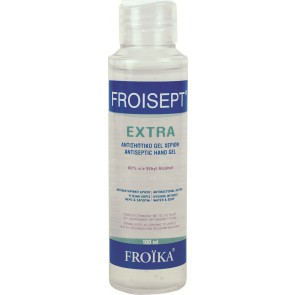 Froika - Froisept extra antiseptic hand gel Αντισηπτικό τζελ χεριών 80% - 100ml