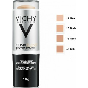 Vichy - Dermablend extra cover corrective stick foundation No45 (Gold) Διορθωτικό foundation απόλυτης κάλυψης - 9gr