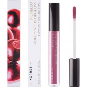Korres - Morello Voluminous Lip Gloss 27 Berry Purple - 4ml