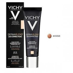 Vichy - Dermablend 3D Correction spf25 (No45 Gold) - 30ml
