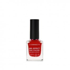 Korres - Βερνίκι Νυχιών Gel Effect Nail Colour 53 Royal Red - 11ml