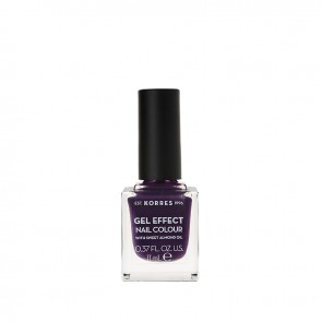 Korres - Βερνίκι Νυχιών Gel Effect Nail Colour 75 Violet Garden - 11ml