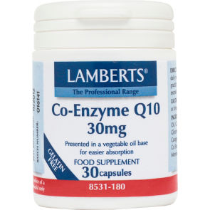 Lamberts - Co-Enzyme Q10 - 30caps