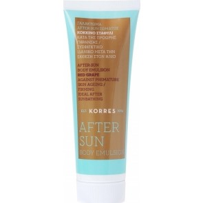 Korres - After Sun Body Emulsion Red Grape Γαλάκτωμα after sun σώματος κόκκινο σταφύλι - 125ml