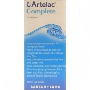 Bausch&Lomb - Artelac Complete - 10ml
