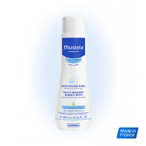 Mustela - Multi-sensory bubble bath Αφρόλουτρο gel για βρέφη - 200ml