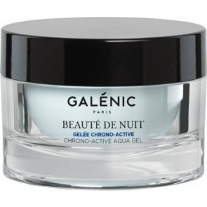 Galenic - Beaute De Nuit Chrono Active Aqua Gel Night Time Ενεργό Τζελ Προσώπου Νυκτός - 50ml