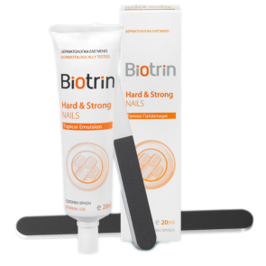 Biotrin - Hard & Strong Nails Topical Emulsion - 20ml