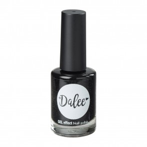 Medisei - Dalee Gel Effect Midnight Black No201 Βερνίκι Νυχιών - 12ml