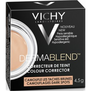 Vichy - Dermablend Colour Corrector Camouflages Dark Spots Διορθωτικό προσώπου για καφέ κηλίδες - 4.5gr