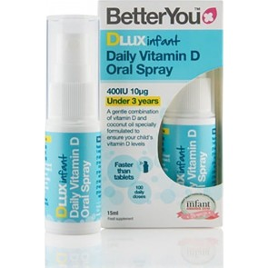 BetterYou - Dlux Infant 400iu spray D3 - 15ml