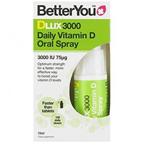 BetterYou - Dlux 3000iu spray D3 - 15ml