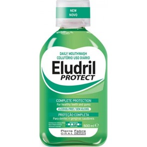 Elgydium - Eludril protect daily mouthwash complete protection for healthy teeth & gums Στοματικό διάλυμα για ολοκληρωμένη προστασία - 500ml