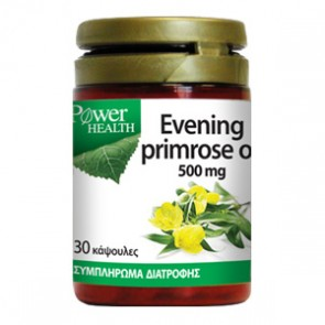 Power Health - Evening Primrose Oil 500mg Έλαιο Νυχτολούλουδου - 30 caps