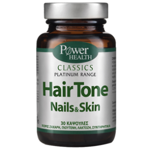 Power Health - Hair tone Nails & Skin - 30caps