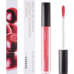 Korres - Morello Voluminous Lip Gloss 42 Peachy Coral - 4ml