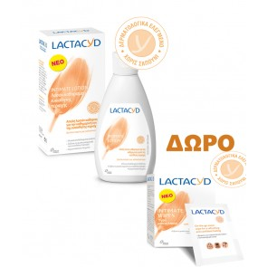Lactacyd - Intimate washing lotion - 300ml & ΔΩΡΟ Intimate wipes - 10pcs