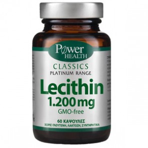 Power Health - Classics Platinum Range Lecithin 1200mg Λεκιθίνη - 60 caps