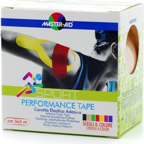 Master Aid - Sport Performance Tape Μπεζ - 5cm x 5m