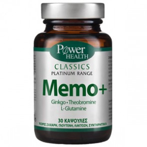 Power Health - Classics Platinum Range Memo+ για τη μνήμη - 30 caps