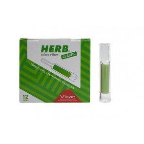 Vican - Herb Micro Filter Classic Ανταλλακτικά Φίλτρα για Κανονικό Τσιγάρο - 12τμχ