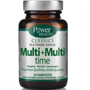 Power Health - Classics Platinum Range Multi+Multi time - 30 tabs