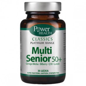 Power Health - Classics Platinum Range Multi Senior 50+ - 30 caps