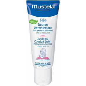 Mustela - Baume Reconfortant Soothing Comfort Balm Moisturizing Chest Rub - 40ml