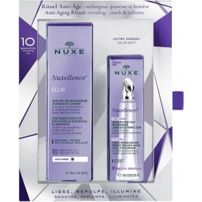 Nuxe - Nuxellence eclat youth & radiance revealing anti-aging care Κρέμα-ορός ημέρας - 50ml & Youth revealing & perfecting anti-aging total eye care Κρέμα ματιών - 15ml
