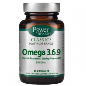 Power Health - Classics Platinum Range Omega 3-6-9 - 30 soft caps