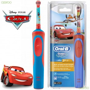 Oral-B - Vitality Kids Stages Power Disney Cars Ηλεκτρική Οδοντόβουρτσα για Παιδιά 3+ - 1τμχ