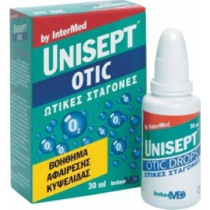 Intermed - Unisept Otic Drops Ωτικές Σταγόνες- 30ml