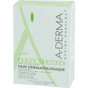 A-Derma - Pain Dermatologique Irritated Skin Dermatological Bar Soap Free - 100gr