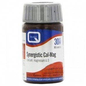 Quest - Synergistic Cal-Mag - 30 ταμπλέτες