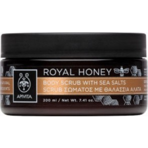 Apivita - Royal Honey Body Scrub with Sea Salts Scrub σώματος με θαλάσσια άλατα - 200ml