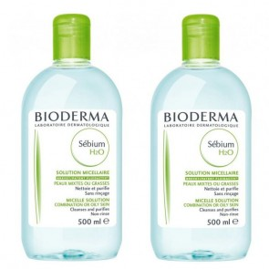 Bioderma - Sebium H2O - 500ml (Δώρο 1+1)