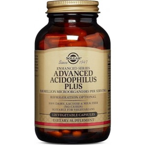 Solgar - Advanced Acidophilus Plus - 120veg. caps